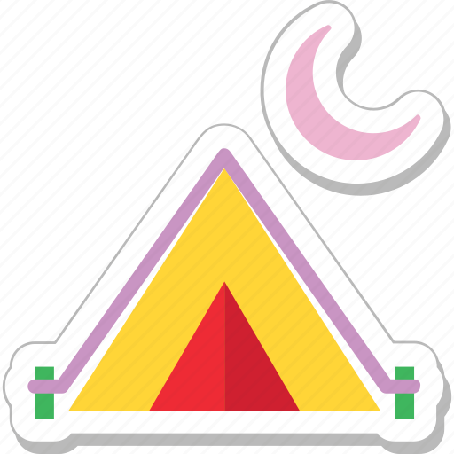 beach tent, camping, teepee, tent, tent house icon