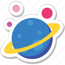 earth, galaxy, orbit, planet, solar system icon