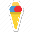 dessert, food, ice cream, ice food, snow cone icon