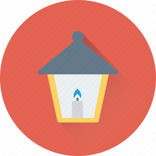 hanging lamp, lamp, lantern, light, night lamp icon