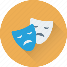 actor mask, cyborg, incognito mask, mask, theater mask icon