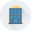 building, hotel, hotel building, real estate, travel icon