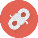 camping, knot, rope, sailing rope, string icon