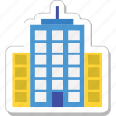 architecture, building, hotel, skyline, skyscraper icon