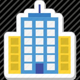 architecture, building, hotel, skyline, skyscraper icon