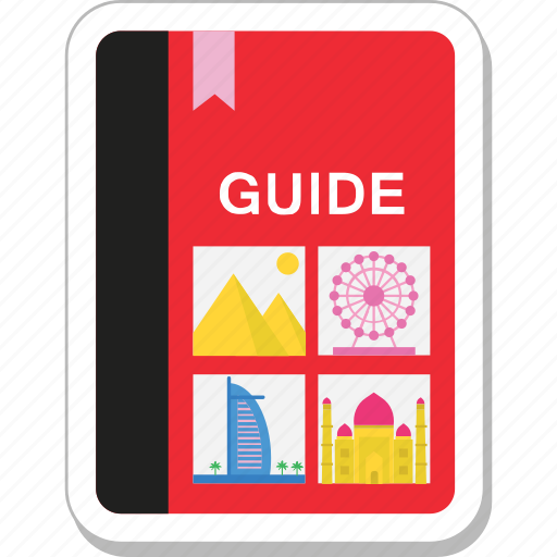 book, booklet, guide, tourism, travel guide icon