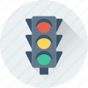 signal lights, traffic lamps, traffic lights, traffic semaphore, traffic signals icon