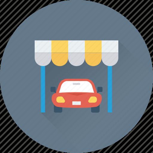 car garage, garage, parking sign, parking signboard, road sign icon