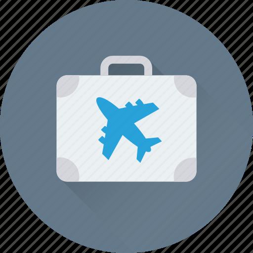 bag, baggage, luggage, luggage bag, shoulder bag icon