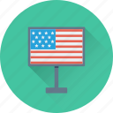 billboard, flag billboard, united state, usa, usa flag icon