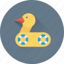 animal, duck, duckling, mallard duck, recorder icon