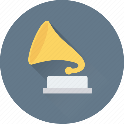 gramophone, music instrument, phonograph, record player, victrola icon