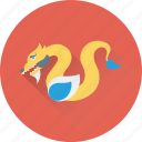 animal, reptile, serpent, snake, viper icon