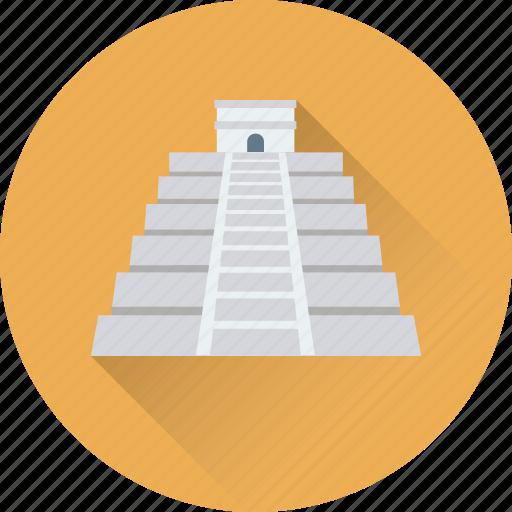 chichen castle, chichen itza, latin america, spain, spanish icon