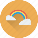 dream, fantasy, rainbow, rainbow curve, spectrum icon