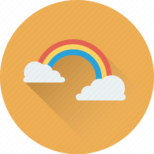 dream, fantasy, rainbow, rainbow curve, spectrum icon