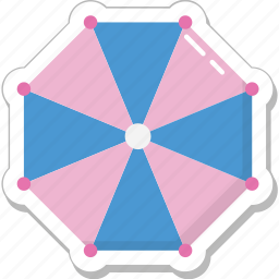 canopy, shade, summer, sunshade, umbrella icon