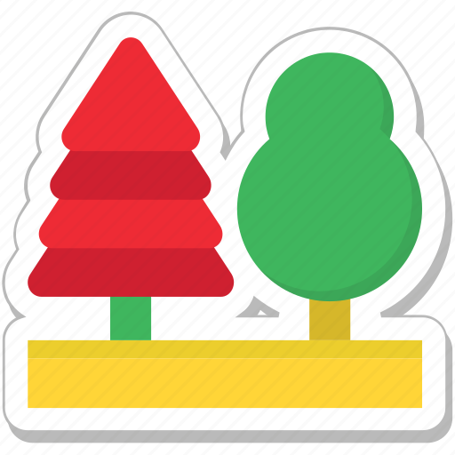 ecology, garden, nature, park, trees icon