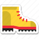 boots, fashion, footwear, hiking boots, shoes icon