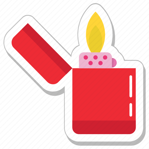 fire, flame, flame lighter, ignite, lighter icon