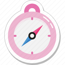 cardinal points, compass, direction tool, gps, navigational icon