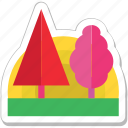 ecology, garden, nature, park, trees icon