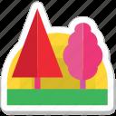ecology, garden, nature, park, trees
