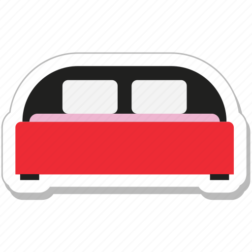 bed, bedroom, relax, rest, sleep icon