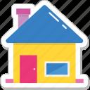 building, cottage, home, house, hut