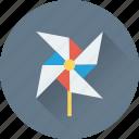 aerogenerator, whirligig, wind fan, wind generator, wind turbines icon