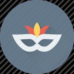 carnival mask, costume, eye mask, mardi gras, theater mask icon