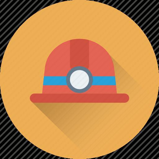 hard hat, mine cap, mine hat, mine helmet, miner hat icon
