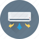 ac, air conditioner, air conditioning, indoor ac, split ac icon