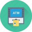 atm withdrawal, banking, cash withdrawal, credit card, transaction