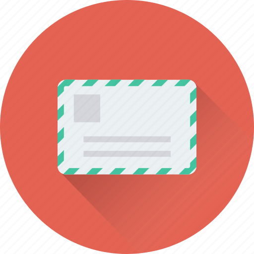 envelope, letter, paper, post, postbox icon