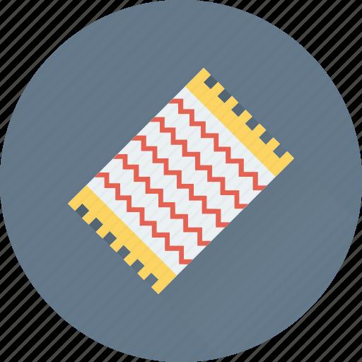 handkerchief, hanky, kerchief, napkin, table mat icon