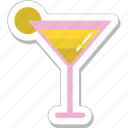 beverage, cocktail, drink, margarita, martini icon