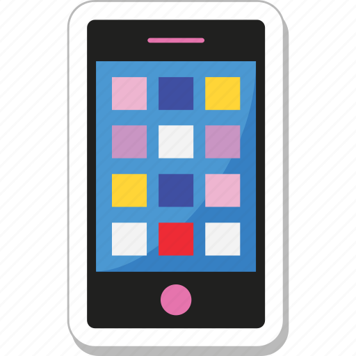 cell phone, interface, mobile, mobile ui, smartphone icon