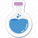 chemical, experiment, flask, laboratory, research icon