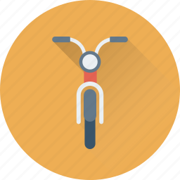 motorbike, motorcycle, scooter, transport, vehicle icon