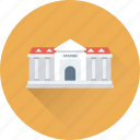 bank, building, court building, courthouse, institute icon