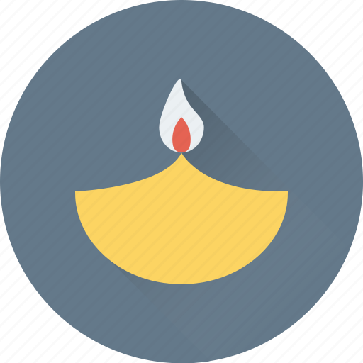 fire, fire lamp, flambeau burn, flame, oil lamp icon