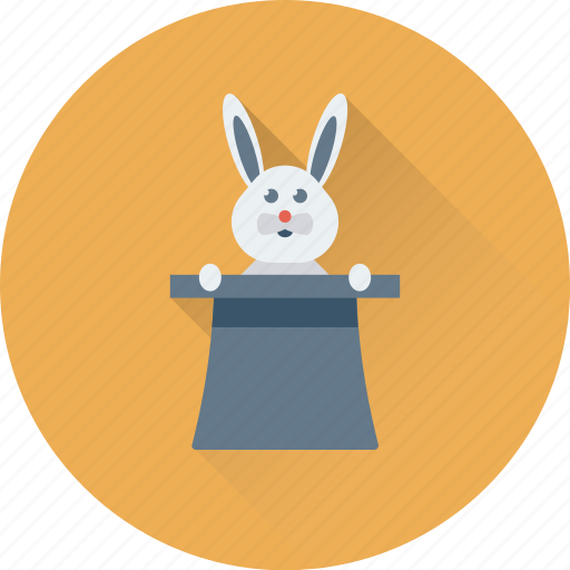 Magic, magic show, magic trick, magician hat, rabbit icon - Download on Iconfinder