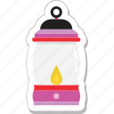 candle, fire, flame, lantern, light