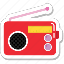 music, radio, sound, stereo, tuner icon