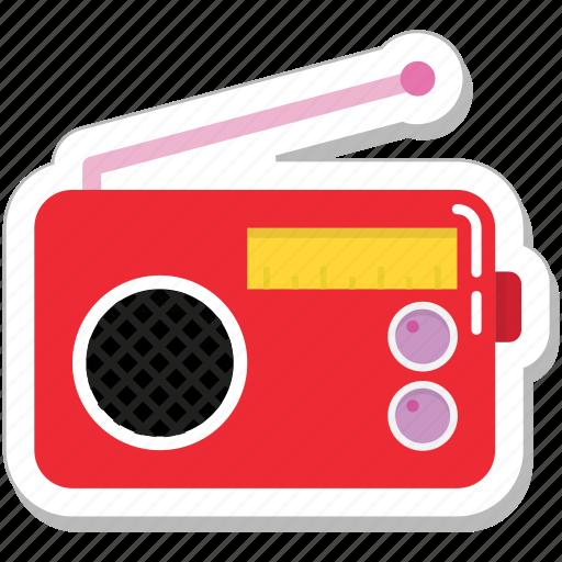 music, radio, sound, stereo, tuner icon