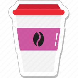 beverage, coffee, cold coffee, cup, drink, take away icon