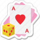 ace of heart, casino, gambling, heart card, poker icon