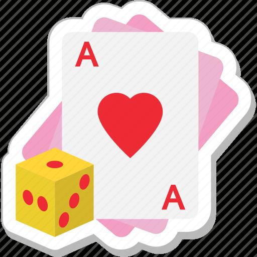 ace of heart, casino, gambling, heart card, poker icon
