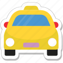 taxi, cab, coupes, taxicab, vehicle